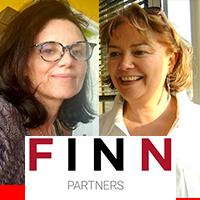 Véronique SImon-Cluzel et Marie-Hélène Coste de Finn Partners